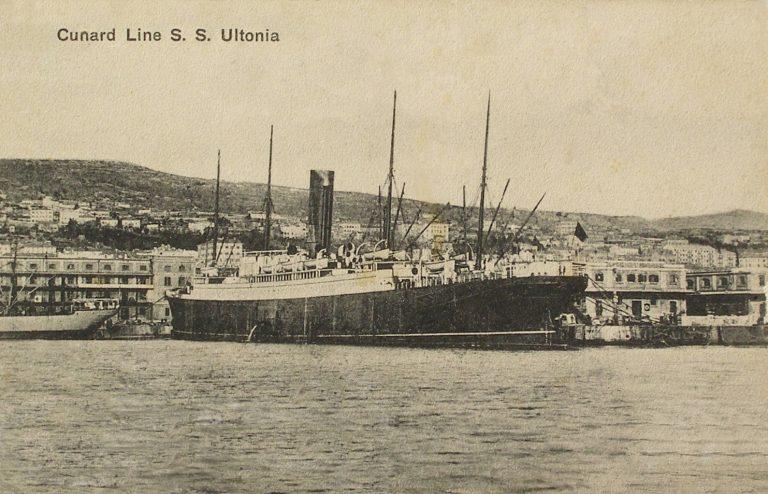 Az Ultonia kivándorló hajó